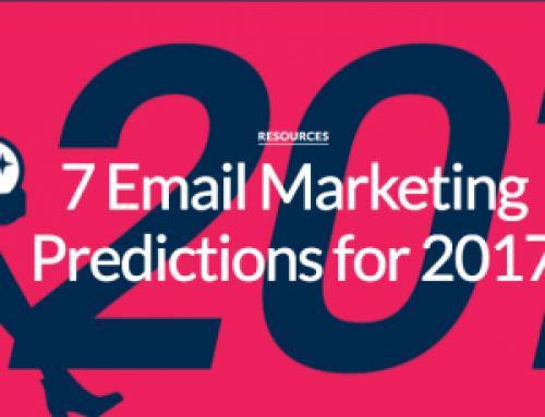 7 E-mailmarketing voorspellingen voor 2017