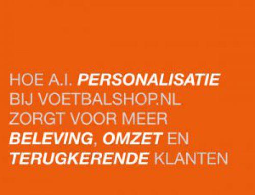 Presentatie   Voetbalshop.nl   Meer beleving en resultaat door A.I. Personalisatie