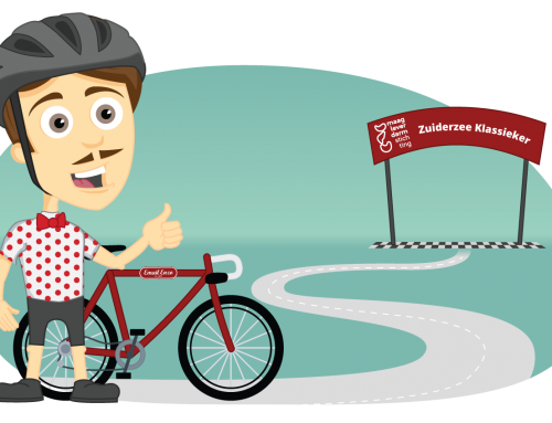 Enzo fietst 900+ km tijdens de Zuiderzee Klassieker